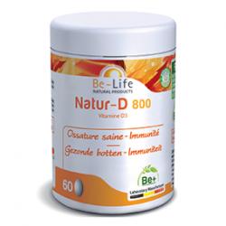 Photo Natur-D 800 (Vitamine D3) 200 capsules Be-Life