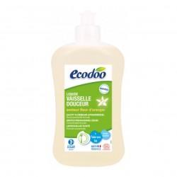 Photo Liquide vaisselle douceur fleur d'oranger 500ml Ecocert Ecodoo