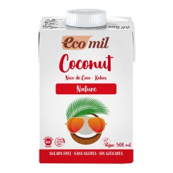 Photo Lait Coco Nature 500ml Bio Ecomil