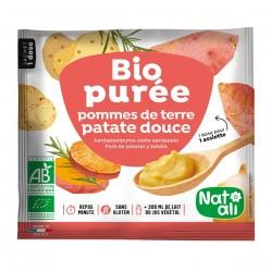 Photo Purée de pomme de terre-patates douces 30g bio Nat-Ali