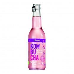 Photo Kombucha mauve-rose 33cl Bio Novita