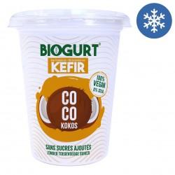 Photo Biogurt Kéfir Noix de Coco sans sucres ajoutés 400g Bio Biogurt