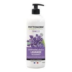 Photo Shampooing-Douche Lavande Relaxante 750ml Bio Phytonorm
