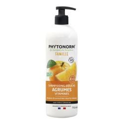 Photo Shampooing-Douche Agrumes Vitaminés 750ml Bio Phytonorm