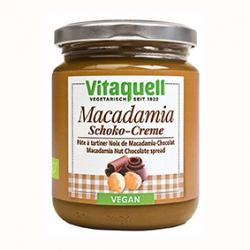 Photo Crème Macadamia-Chocolat 250g Bio Vitaquell