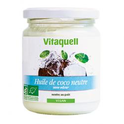 Photo Huile de Coco Neutre 200g Bio Vitaquell