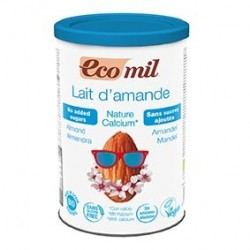 Photo Lait Amandes-Calcium Instantané Nature 400g Bio Ecomil