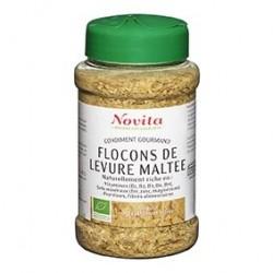 Photo Flocons de Levure Maltée 150g Bio Novita