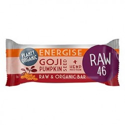 Photo Barre Energétique Goji-Courge 30g Bio Planet Organic