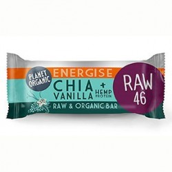 Photo Barre Energétique Chia-Vanille 30g Bio Planet Organic