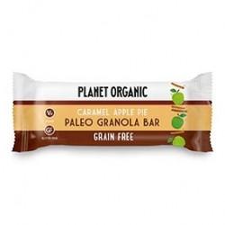 Photo Barre Paléogranola Pommes Caramel 30g Bio Planet Organic