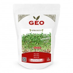 Photo Brocolis - Graines à germer bio - 300g Geo